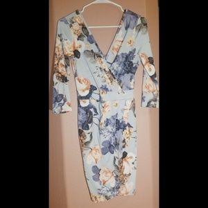 Fashion Nova Floral Dress